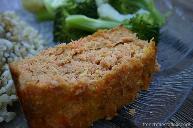 Blast From The Past – Salmon Loaf | french fries to flax seeds