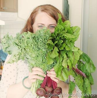 Kitchen Kale Face Cover